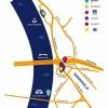 Mapa Sava Male sa označenim klubovima by