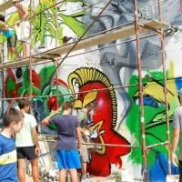Počeo Street ART Festival u Kraljevu