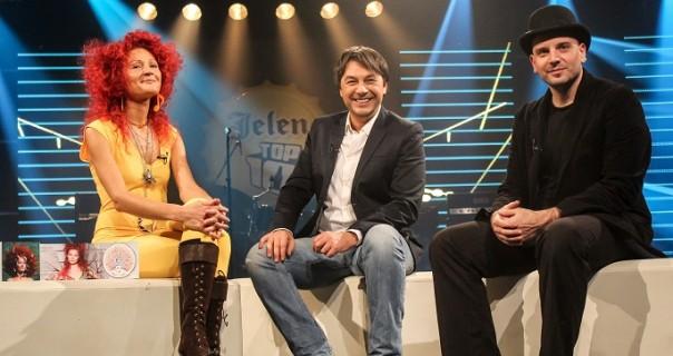 Vila Filozofina i članovi grupe Eldorado u emisiji Jelen TOP 10