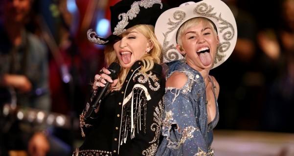 I nad Madonnom ima Miley!