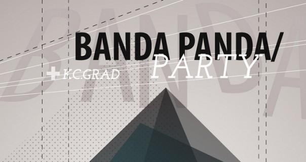 Banda Panda u KC Grad u subotu 19.1.