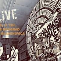 Sharks, Snakes & Planes promovišu svoj prvi EP na Zidiću ispred DOB-a