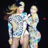 Beyonce i Nicki Minaj by Instagram Photo
