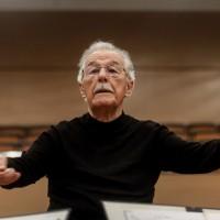 Proslava 90. rođendana Mladena Jagušta u Beogradskoj filharmoniji