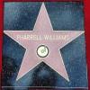 Pharrellova zvezda na Bulevaru slavnih by Official Facebook Page