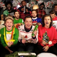 One Direction & Jimmy Fallon: pogledajte božićni duet