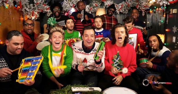 One Direction & Jimmy Fallon: pogledajte božićni duet