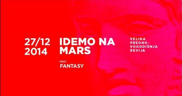 "Drug§tore: ""Idemo na Mars"" feat. ""Fantasy"" 27. decembra"