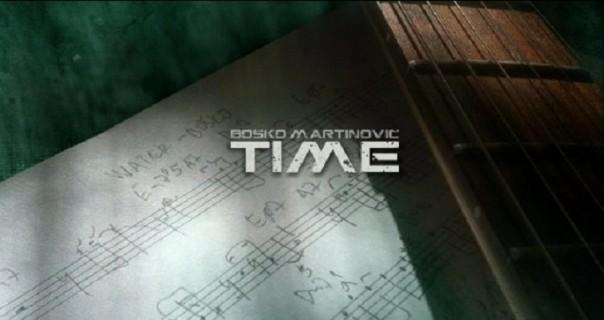 """Boško Martinović: objavljen novi album """"Time"""""""