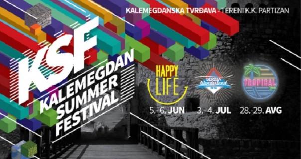 Kalemegdan Summer Festival: prognoza za leto – vrelo!