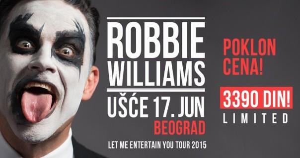 Robbie Williams definitivno na beogradskom Ušću 17. juna!