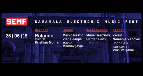 Večeras prvi Savamala Eletronic Music Fest