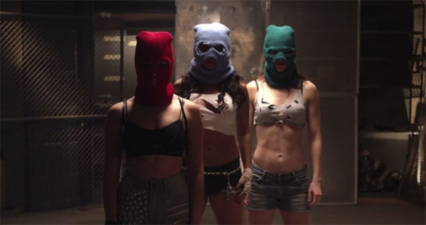 Pussy Riot na Szigetu