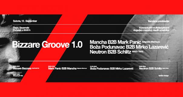 Bizzare Groove u Depou