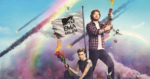 Ed Sheeran vodi MTV EMA ove godine
