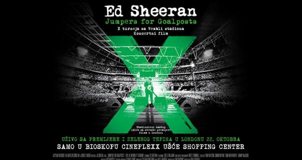 Premijera koncertnog filma Eda Sheerana