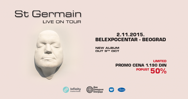 St. Germain konačno u Beogradu