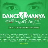 Dance4Manya počinje večeras
