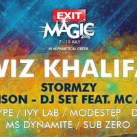 Wiz Khalifa, Ms Dynamite i Stormzy na Exitu 2016.