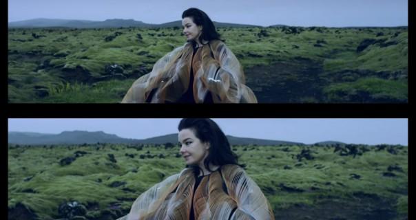 Björk na dva ekrana