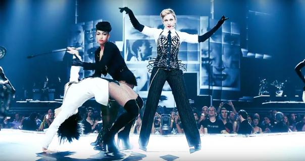 Madonna je kraljica turneja