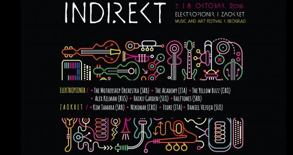 MjuzNews predstavlja izvođače Indirekt festivala