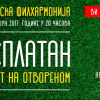Besplatan koncert Beogradske filharmonije na otvorenom