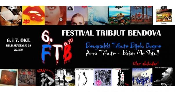 6. Festival tribjut bendova u Akadamiji 28