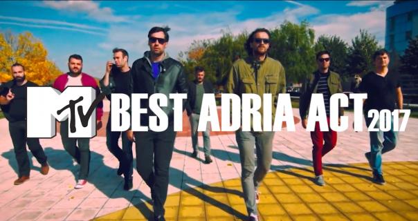 Ničim Izazvan je MTV Best Adria Act 2017