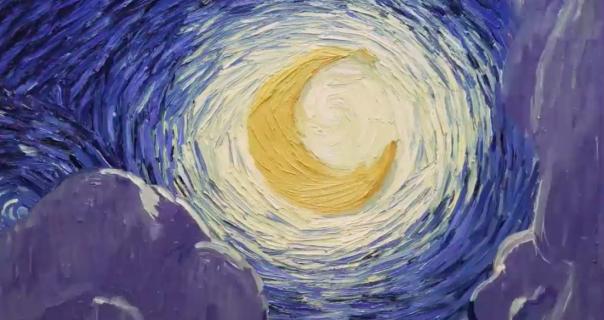 Ellie Goulding i James Blake pevaju o Van Goghu