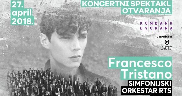 Frančesko Tristano i Simfonijski orkestar RTS otvaraju novu dvoranu