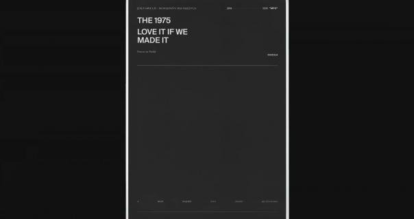 The 1975 u svojoj traci i dalje
