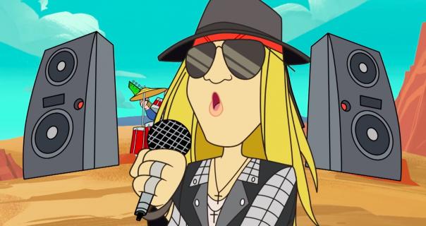 Axl Rose napravio prvu pesmu u deset godina