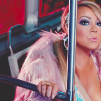 Mariah Carey u glamuroznoj vožnji metroom