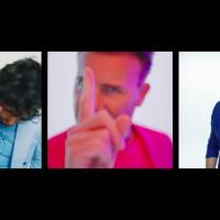 Gary Barlow, Michael Bublé i Sebastián Yatra