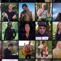 Sve britanske zvezde na humanitarnoj pesmi